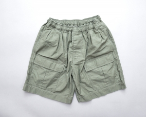 COMFORTABLE REASON 「 Safari Shorts / OLIVE 」