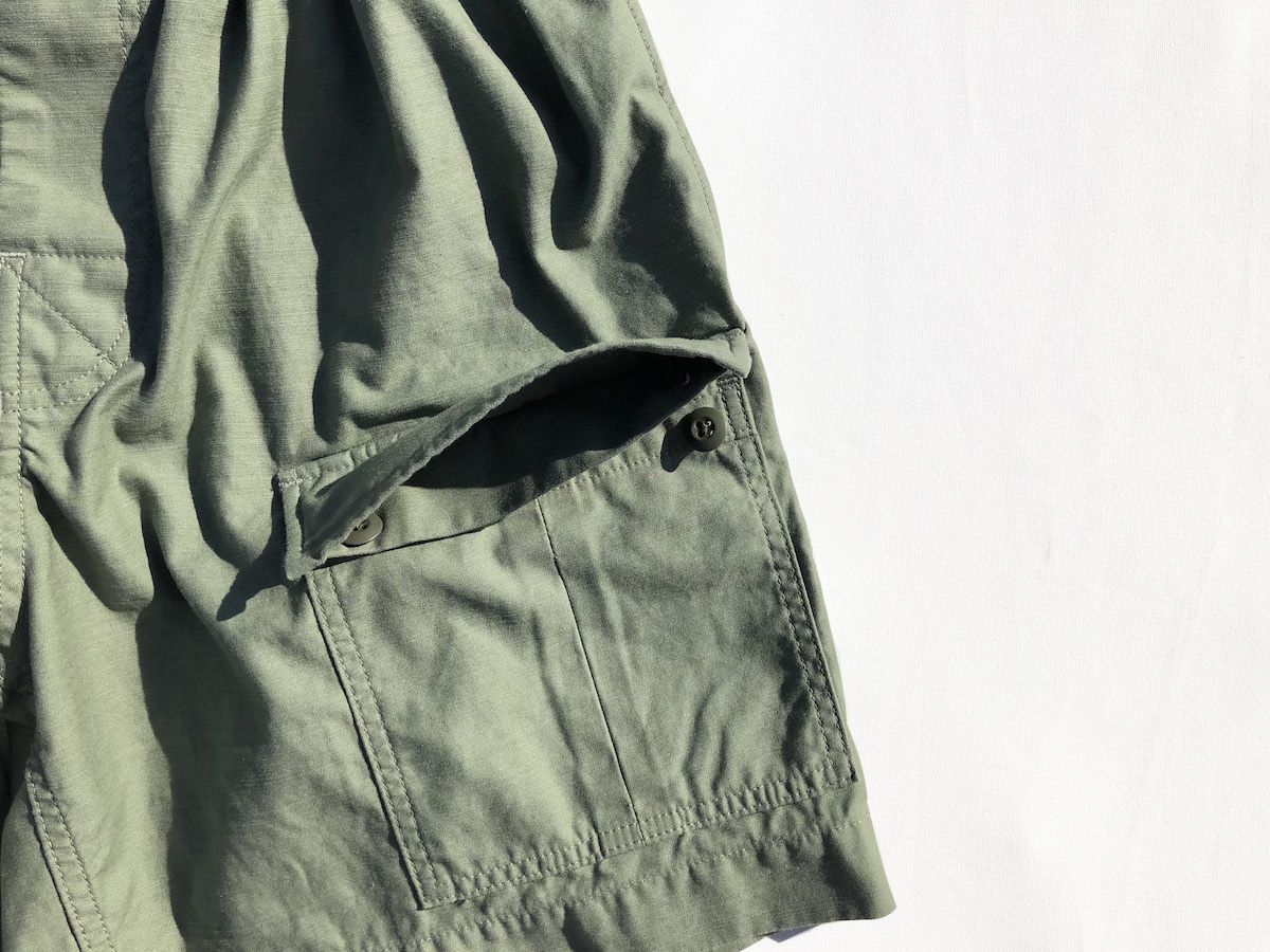 COMFORTABLE REASON 「 Safari Shorts / BROWN 」