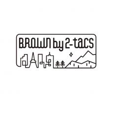 BROWN by 2-tacs 「 BIG SACOCHE / DARK KHAKI 」--11