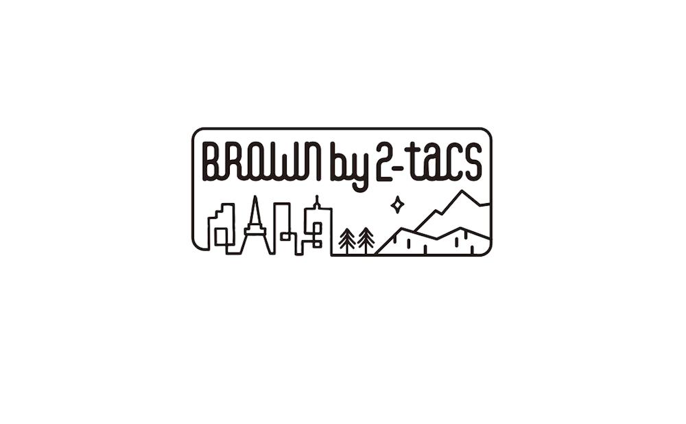 BROWN by 2-tacs 「 BIG SACOCHE / DARK KHAKI 」