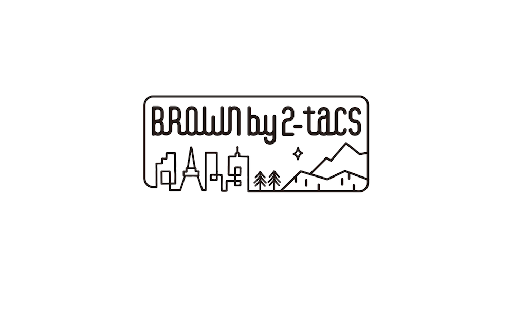 BROWN by 2-tacs「 ALOHA SHORTS / DARK GREEN 」
