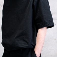 AUGUSTE-PRESENTATION PajamaLook 「 ダンガリー半袖プルオーバー / BLACK 」
