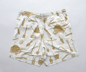 BROWN by 2-tacs「 ALOHA SHORTS / GRAY 」--06