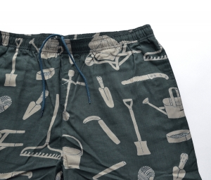 BROWN by 2-tacs「 ALOHA SHORTS / DARK GREEN 」--06