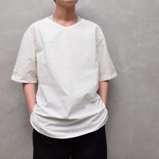 AUGUSTE-PRESENTATION PajamaLook 「 ダンガリー半袖プルオーバー / WHITE 」