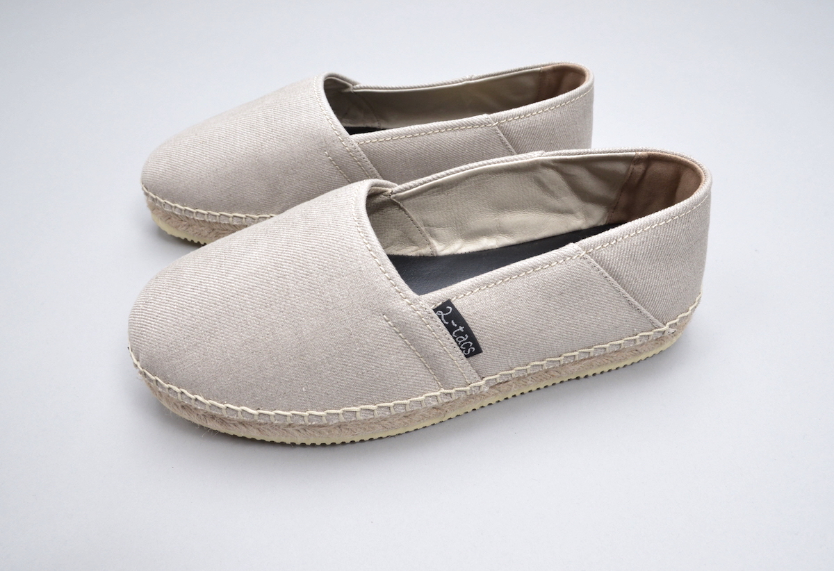 BROWN by 2-tacs「ESPADRILLES / NATURAL 」