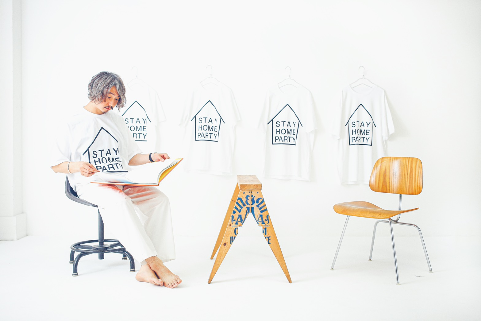 STAY HOME PARTY T-SHIRT
