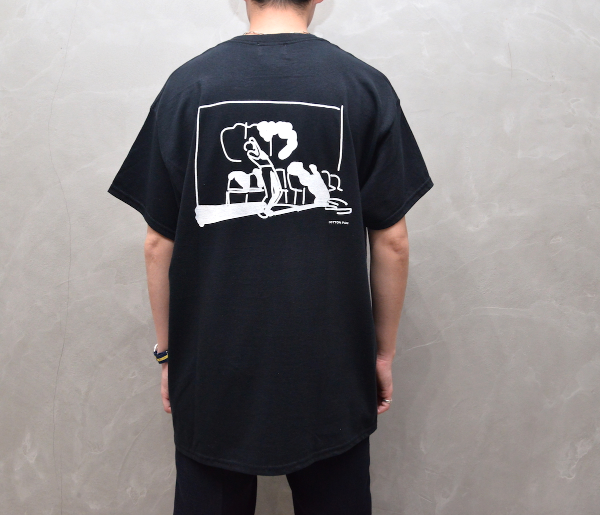 "cotton pan 「 "" Choose Life "" / Black 」"