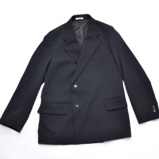 AURALEE 「 WOOL MAX GABARDINE DOUBLE-BREASTED JACKET 」