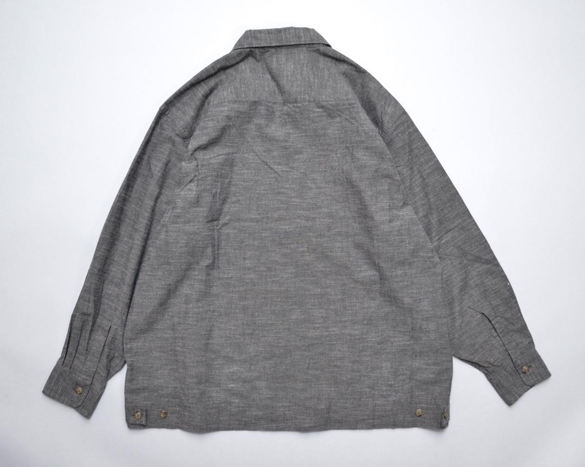 Marvine Pontiak shirt makers 「 Drizzler SH - Brown 」