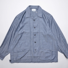 Marvine Pontiak shirt makers 「 Drizzler SH - Indigo Kersey 」