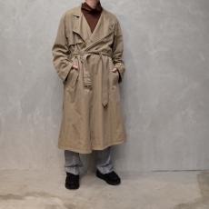 AURALEE 「 WASHED FINX CUPRO TWILL LONG COAT 」