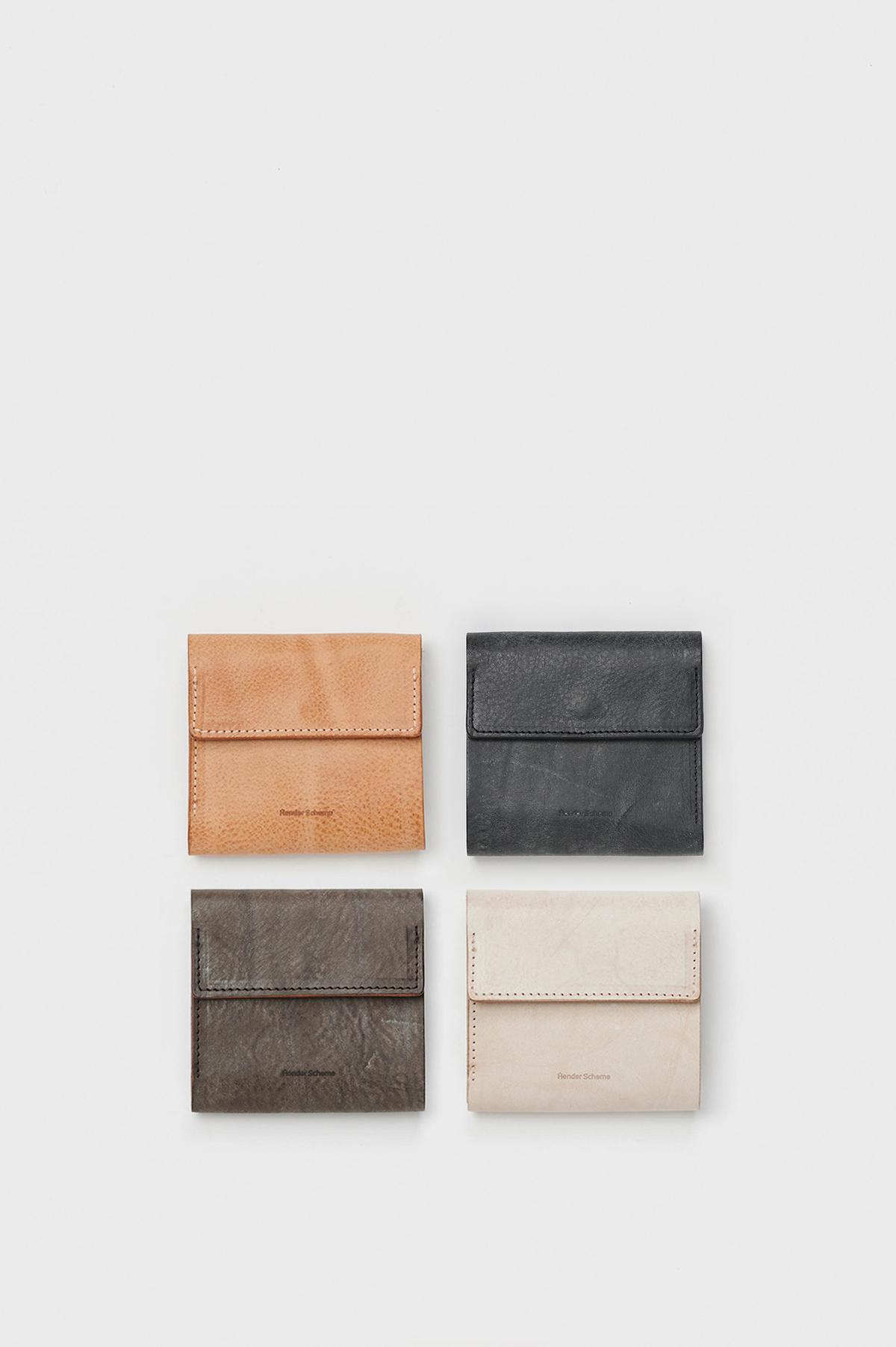 Hender Scheme 「 clasp wallet / black 」