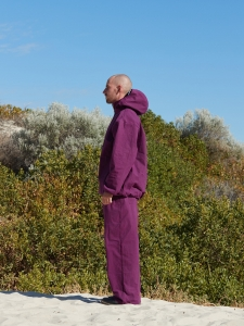 MAN-TLE 「 R9 - HOOD PULL OVER SHIRT / PURPLE CORAL 」--07