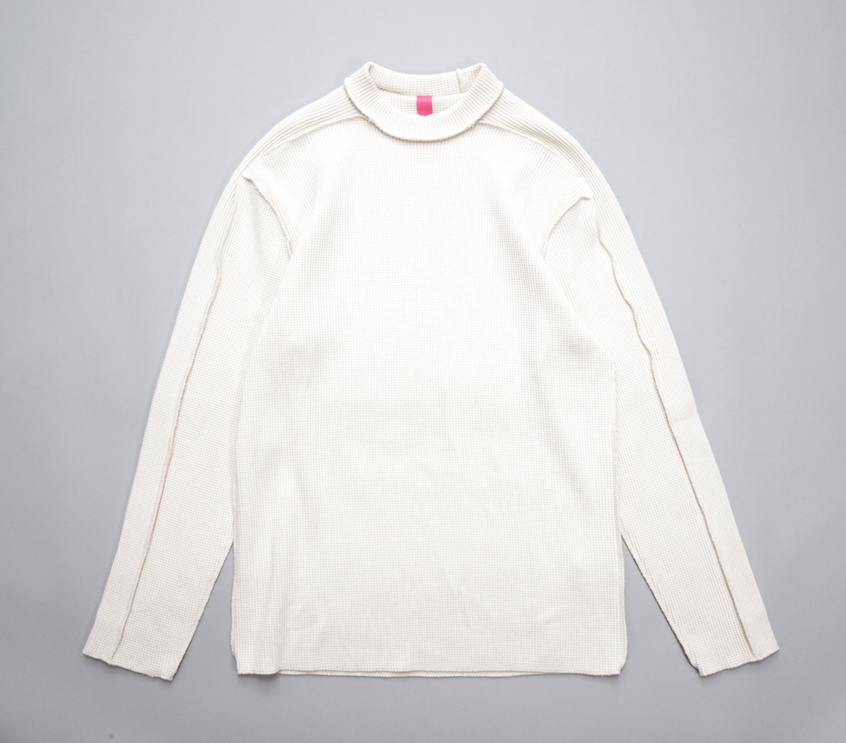 MAN-TLE 「 R9 - WAFFLE T-SHIRT / UNBLEACHED 」