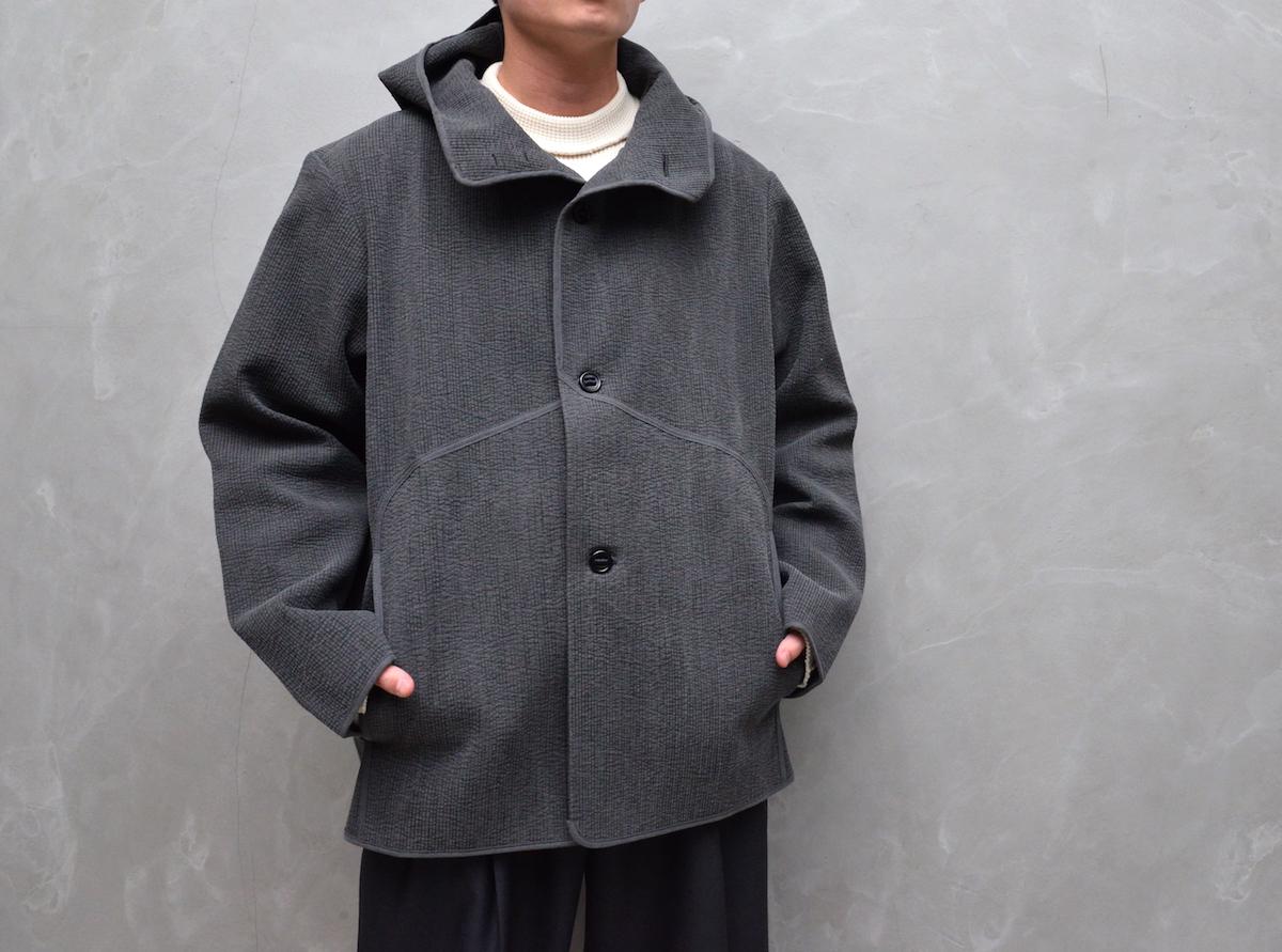 MAN-TLE 「 R9 - NUBI HOOD SHIRT 」