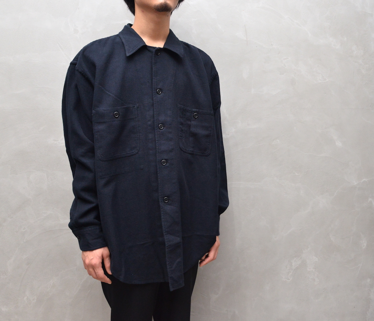 Marvine Pontiak shirt makers 「 Cover All / Black 」