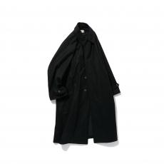 POLYPLOID「LONG COAT TYPE-C / BLACK MELANGE 」