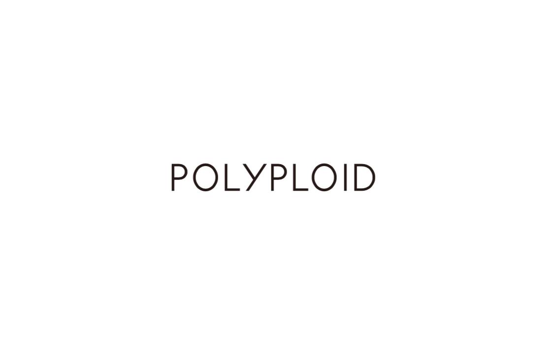 POLYPLOID「LONG COAT TYPE-C / NATURAL MELANGE 」