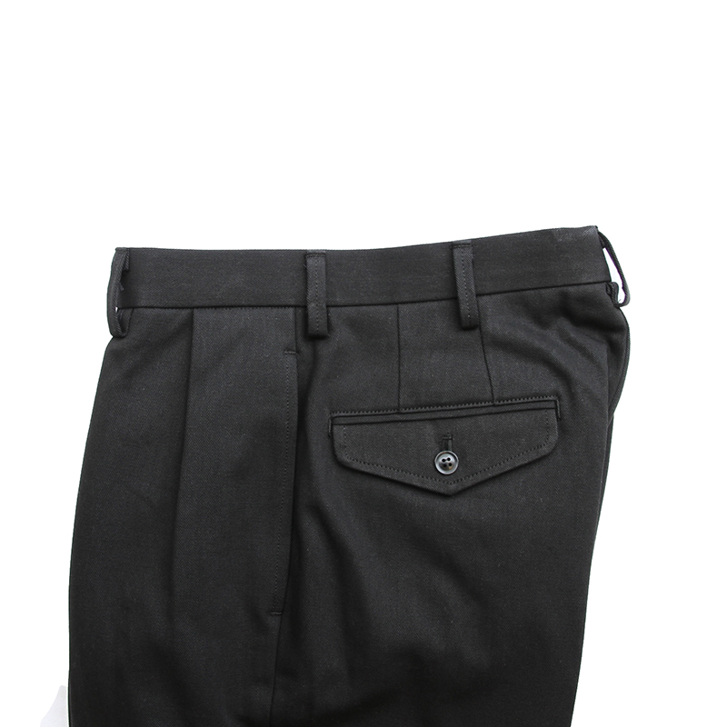 "BROWN by 2-tacs 「 STRAIGHT SLACKS  - ""Selvedge chino cloth"" 」"