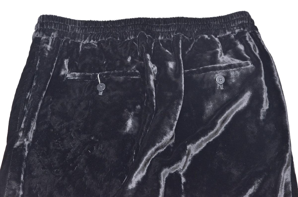 WHOWHAT 「 VELVET EE PANTS / BLACK 」