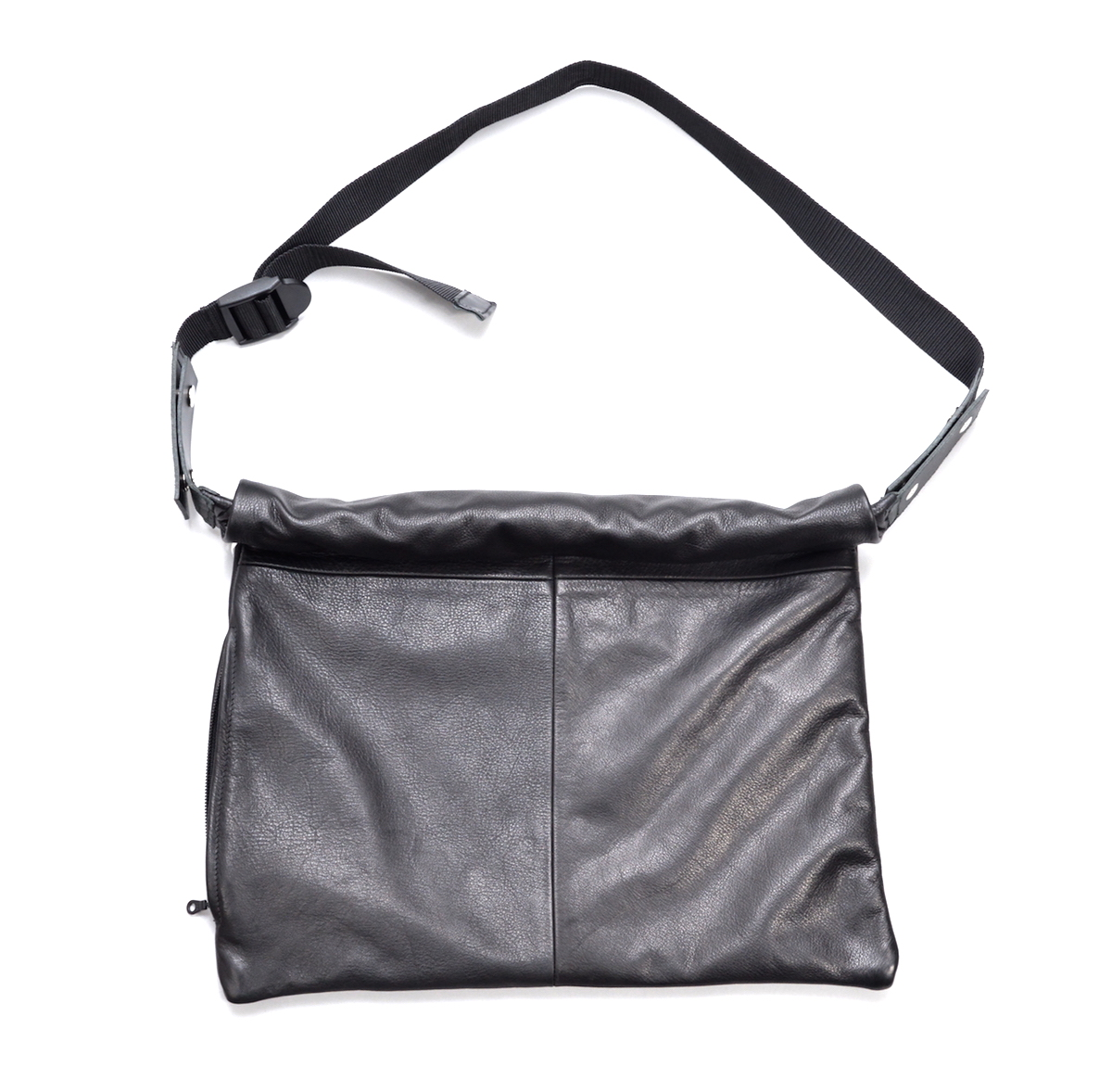 WHOWHAT 「 LEATHER WRAP BAG 」