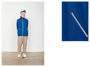 CAMIEL FORTGENS「 10.08.14 LOOSE TRACK JACKET COTTON 」