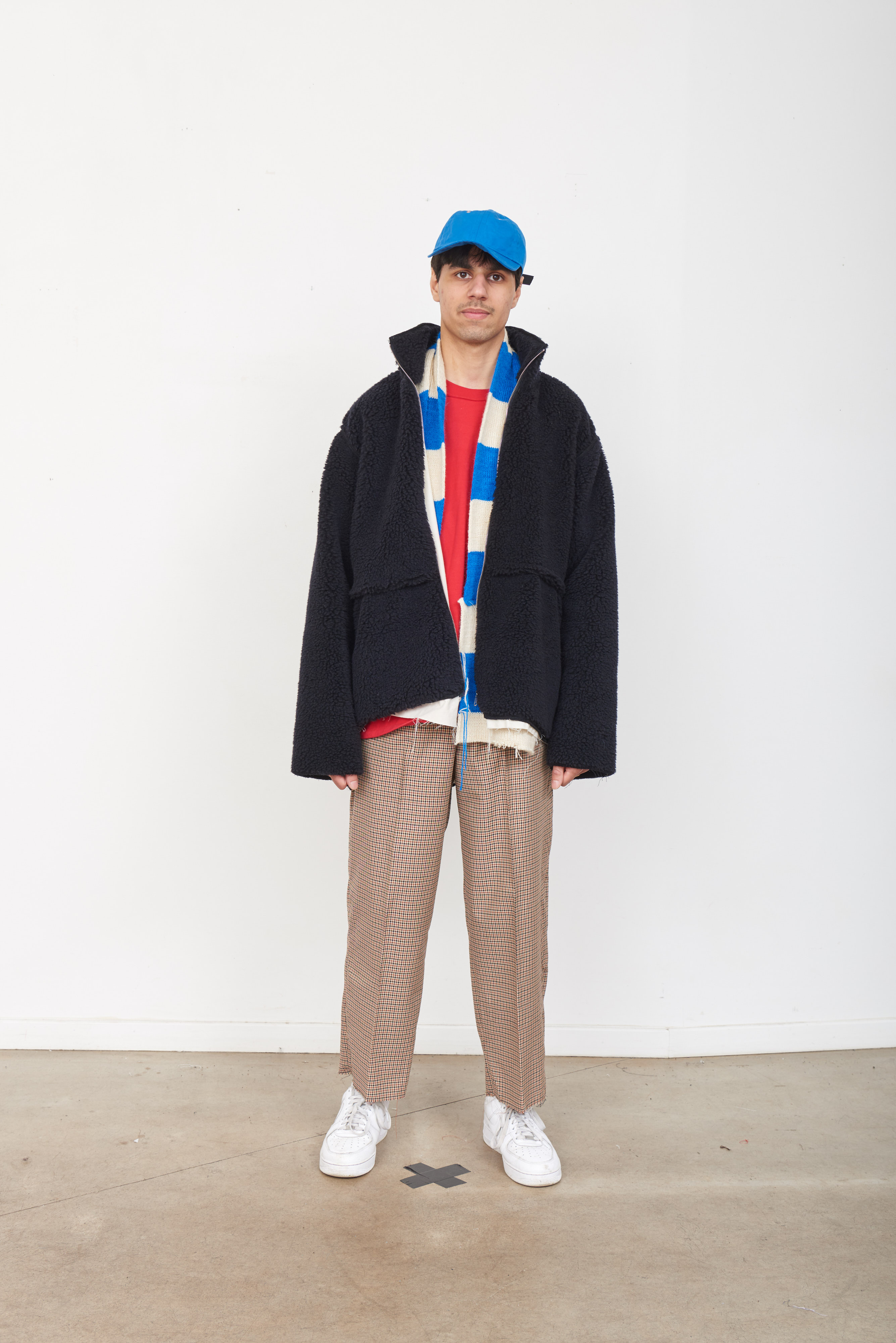 CAMIEL FORTGENS 「 10.08.11 SHEEP JACKET PURE WOOL 」