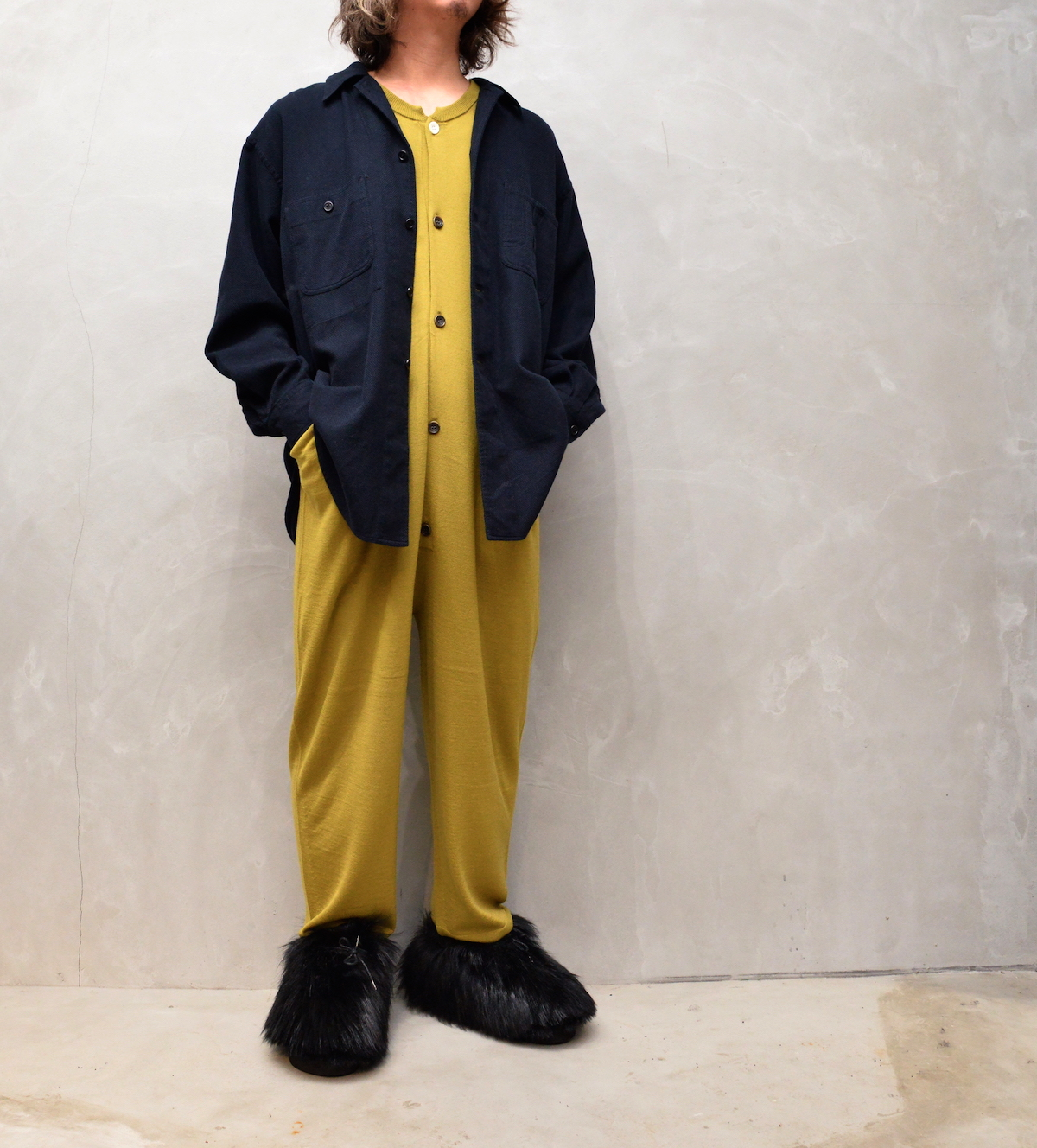 HOMELESS TAILOR 「 ALL IN ONE / MUSTARD 」