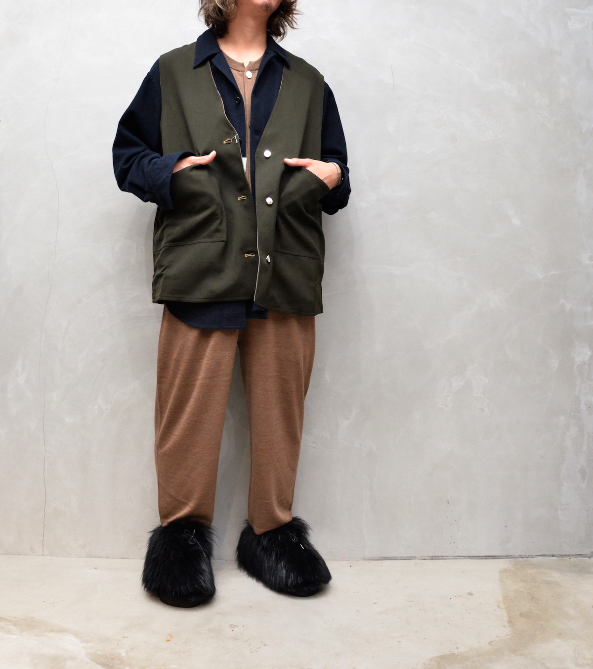 HOMELESS TAILOR 「 ALL IN ONE / CAMEL 」