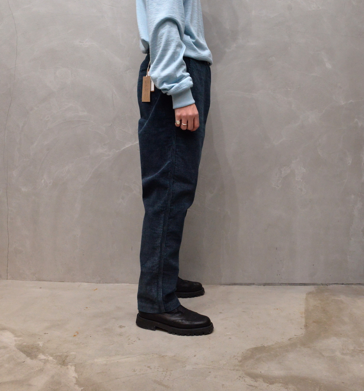 BROWN by 2-tacs 「 WIDE / CUT INDIGO 」