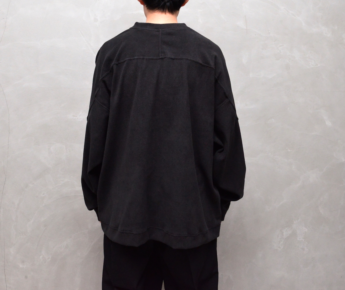 ESSAY 「 TS-2 : SKULL FLEECE / black 」