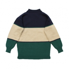 "BROWN by 2-tacs 「 TRADITIONAL "" WIDE BORDER "" / NAVY & GREEN 」"