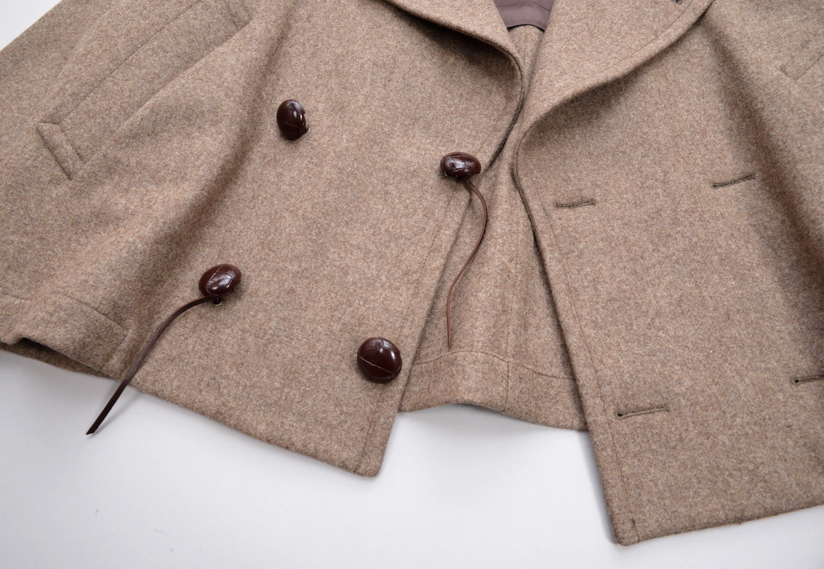 HED MAYNER 「 CROPPED PEA COAT 」