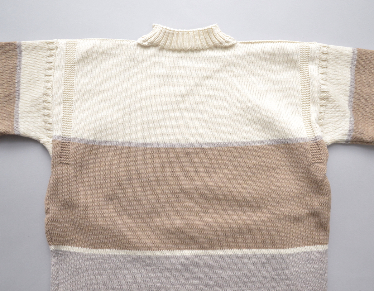 """BROWN by 2-tacs 「 TRADITIONAL """" WIDE BORDER """" / WHITE & NATURAL 」"""