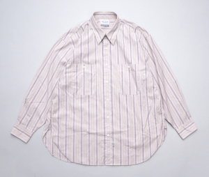 Marvine Pontiak shirt makers 「 Military SH / Beige Pink ST 」