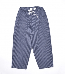 Marvine Pontiak shirt makers 「 Pajama Pants 2 / Navy ST 」