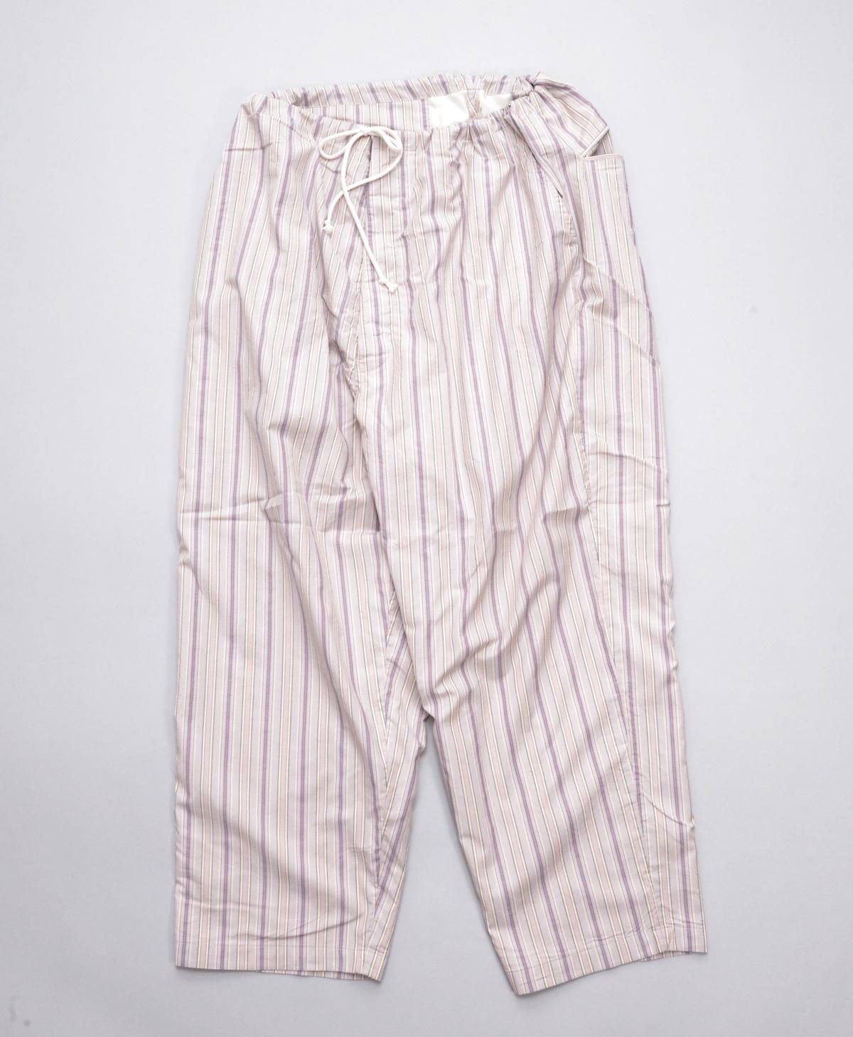 Marvine Pontiak shirt makers 「 Pajama Pants 2 / Beige Pink ST 」