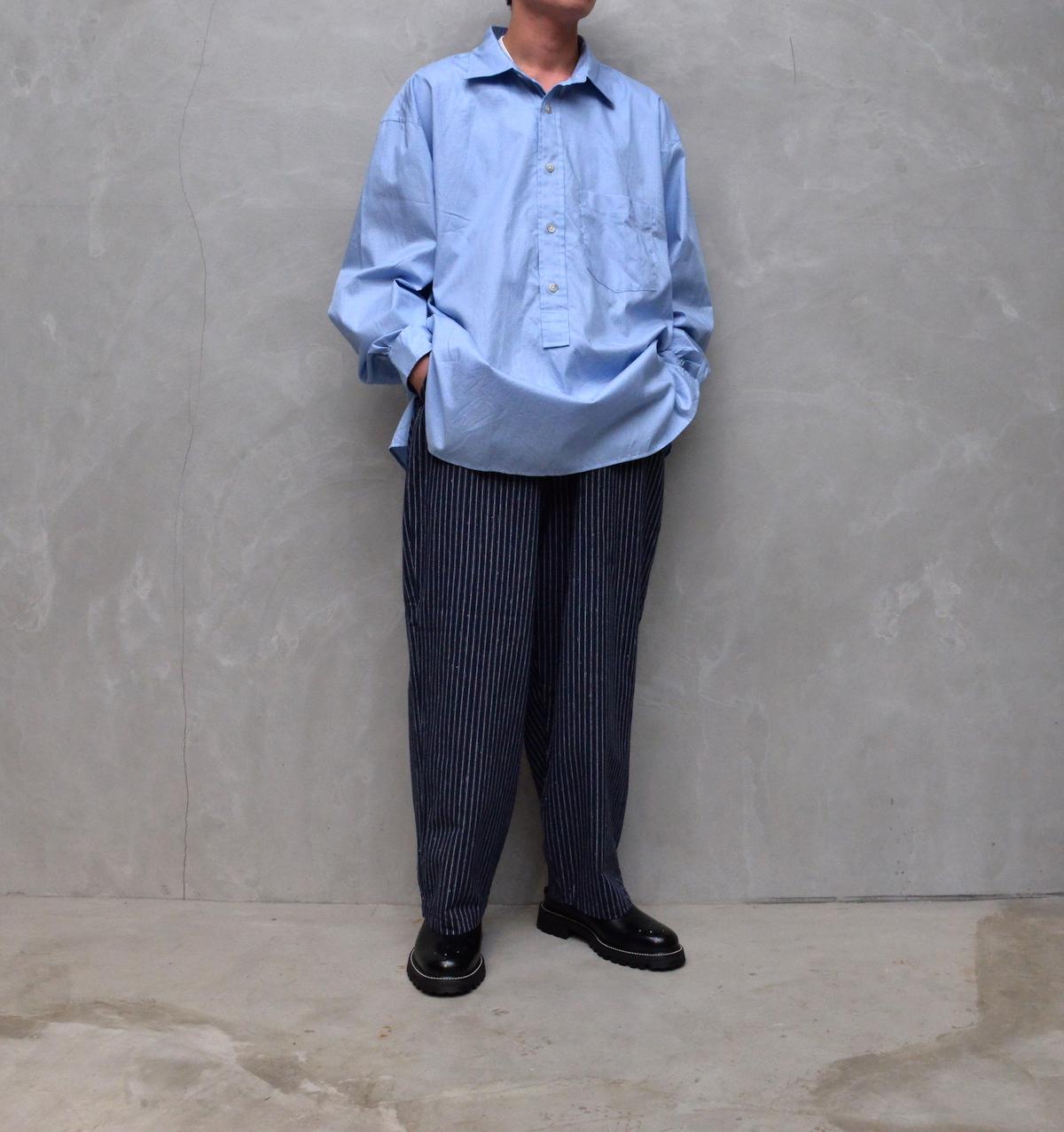 Marvine Pontiak shirt makers 「 Wide Spread P/O SH / Sax Chidori 」