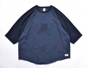 HOMELESS TAILOR 「 VIRUS RAGLAN T-SHIRT 」