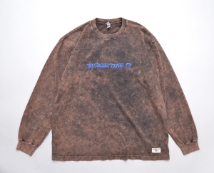 HOMELESS TAILOR 「 VIRUS LONG SLEEVE T / BROWN 」