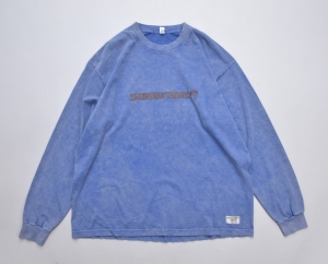 HOMELESS TAILOR 「 VIRUS LONG SLEEVE T / BLUE 」