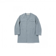 POLYPLOID 「 ATELIER COAT TYPE-C : 2021SS / BLUE GRAY 」