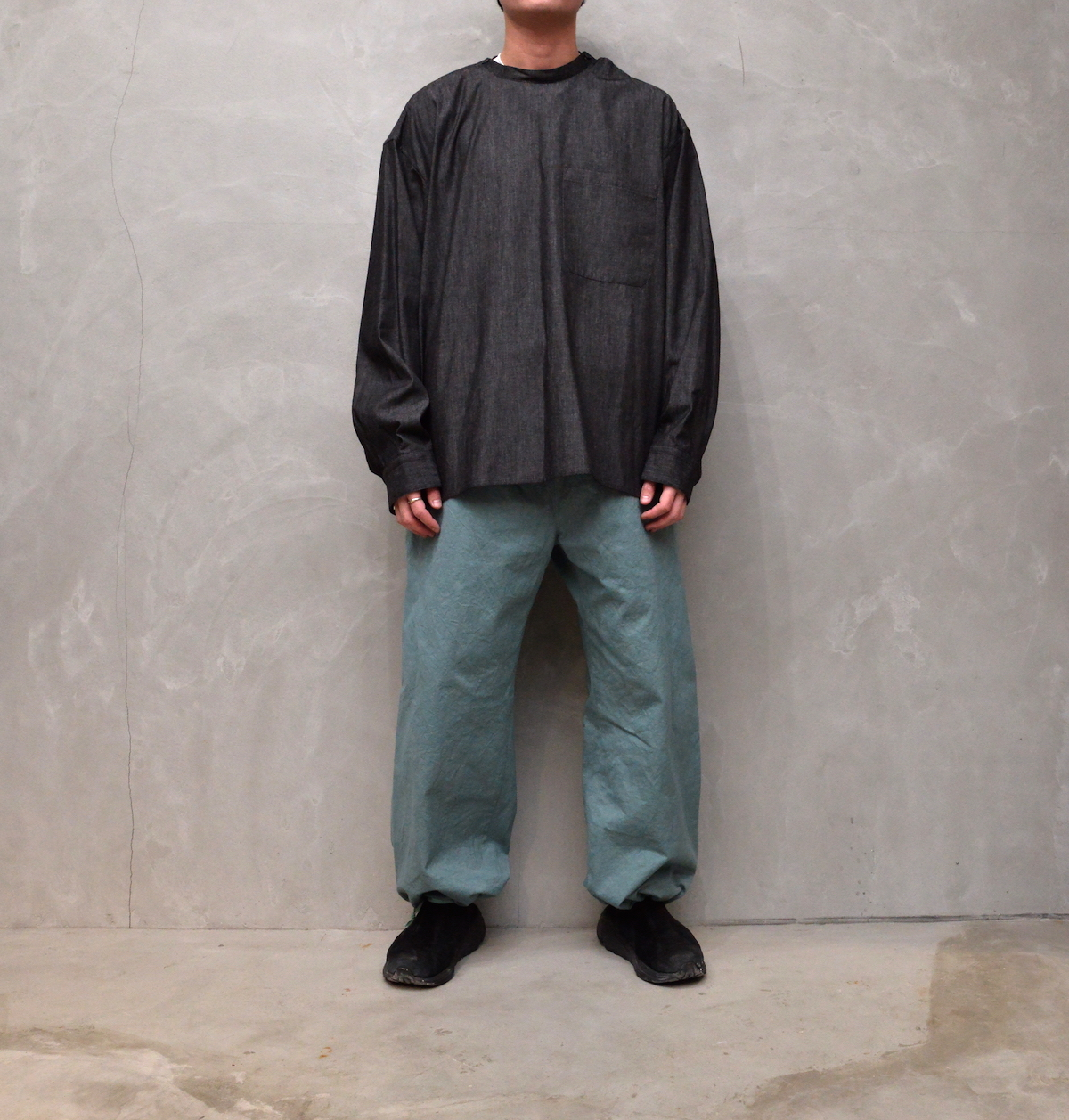 POLYPLOID 「 OVER PANTS TYPE-C : 2021SS 」