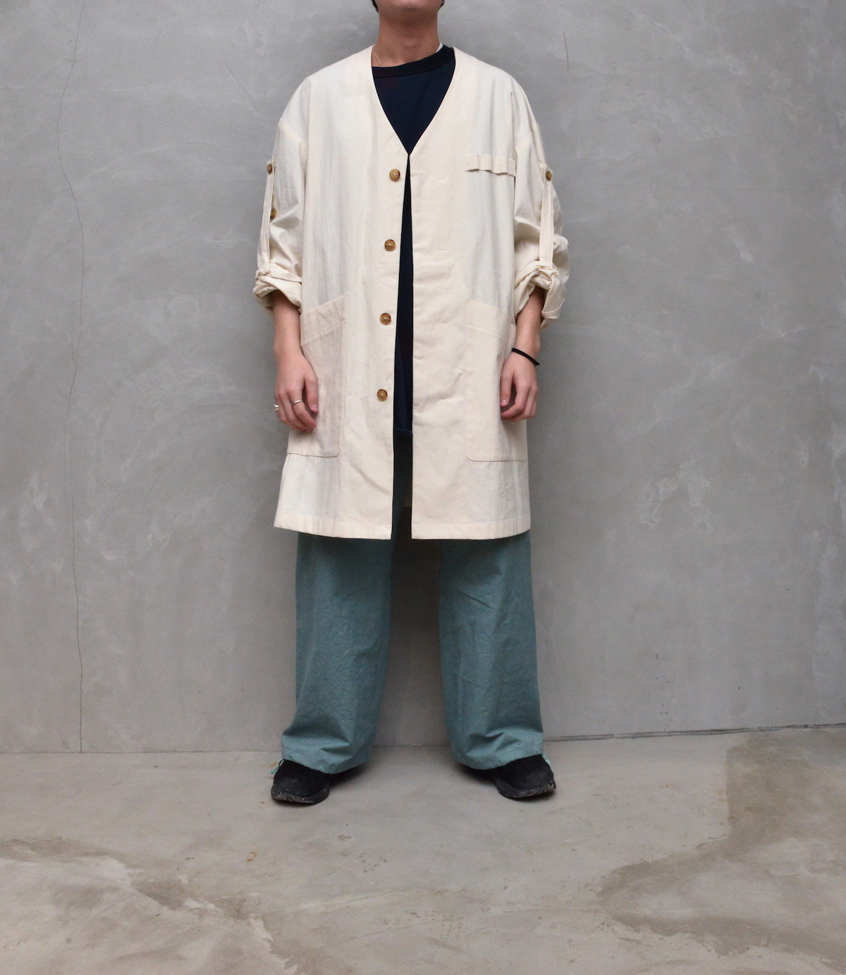 POLYPLOID 「 ATELIER COAT TYPE-A : 2021SS 」