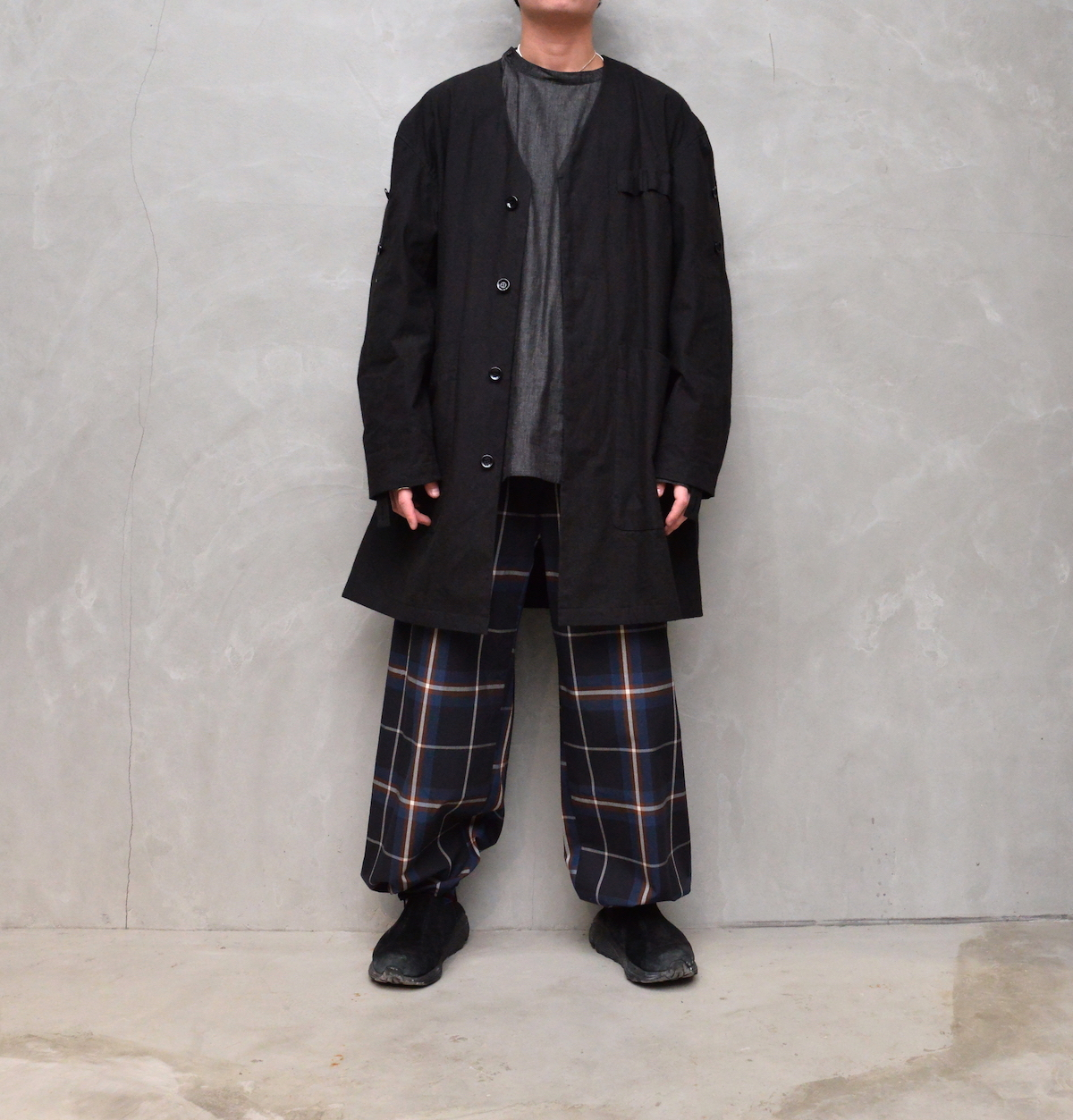 POLYPLOID 「 OVER PANTS TYPE-B : 2021SS」