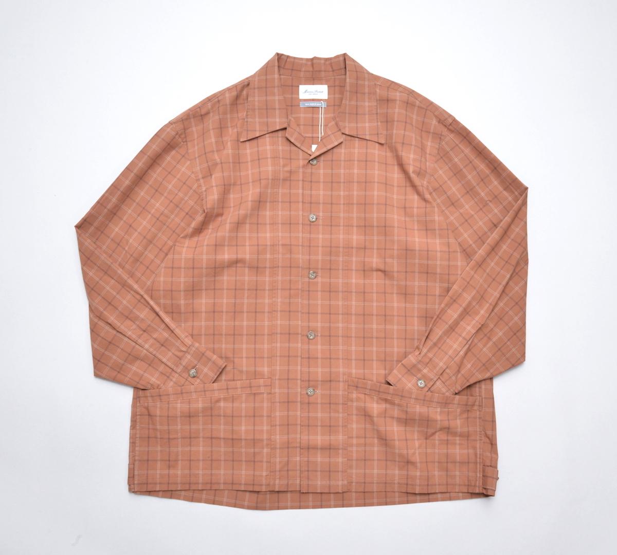 Marvine Pontiak shirt makers 「 Drizzler SH - Brick CH 」