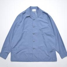 Marvine Pontiak shirt makers 「 Drizzler SH - Blue Ripstop 」