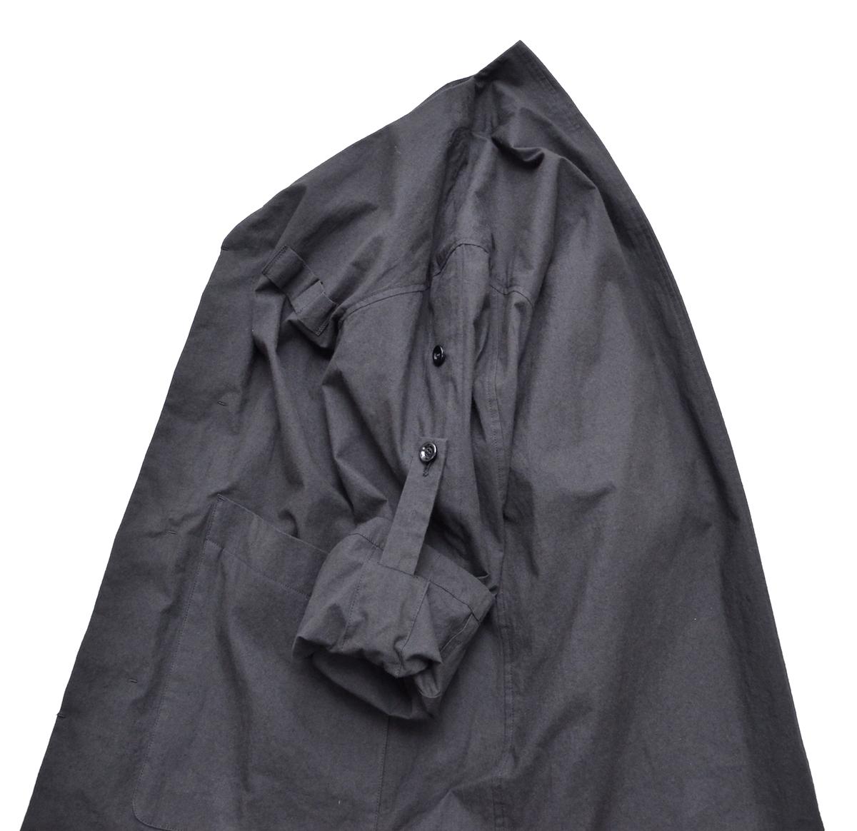 POLYPLOID 「 ATELIER COAT TYPE-C : 2021SS / BLACK 」
