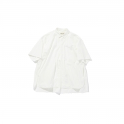 POLYPLOID 「 SHORT SLEEVE SHIRT TYPE-C / WHITE 」